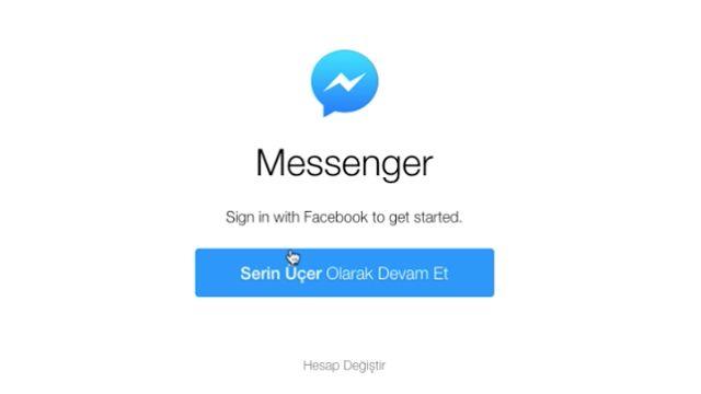 Facebook Web Messenger Nasıl Kullanılır?