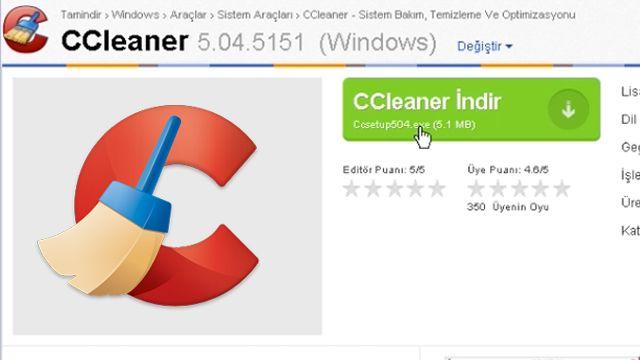 CCleaner Nasıl Kaldırılır?