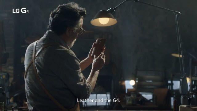 LG G4'ün Derisinin Sırrı Ortaya Çıktı!