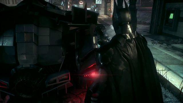 Batman Arkham: Knight - Batmobile Oynanış Videosu