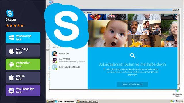 Yeni Skype Hesabı Nasıl Açılır?