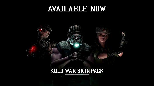 Mortal Kombat X'in Kold War Kostüm Paketi Satışa Sunuldu