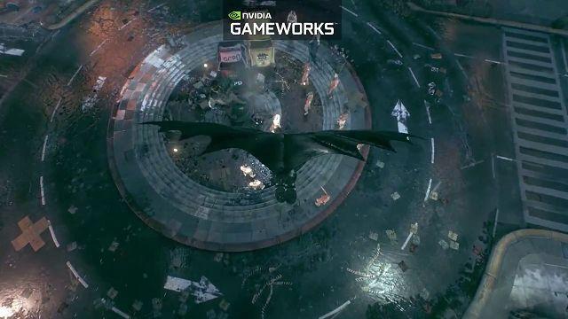 Nvidia Gameworks'lu Batman Arkham Knight Videosu