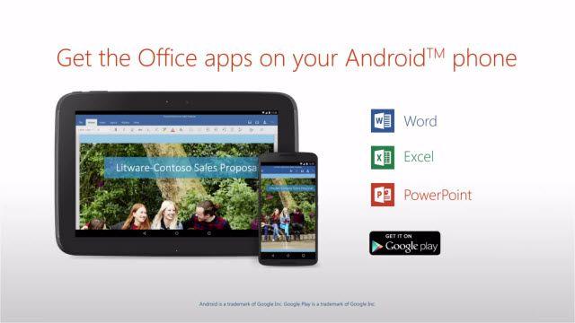Microsoft Office Artık Android Telefonlarda da Kullanılabiliyor!