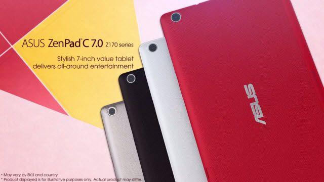 Beklenen Tablet Ortaya Çıktı: ASUS ZenPad C 7.0 Tanıtıldı