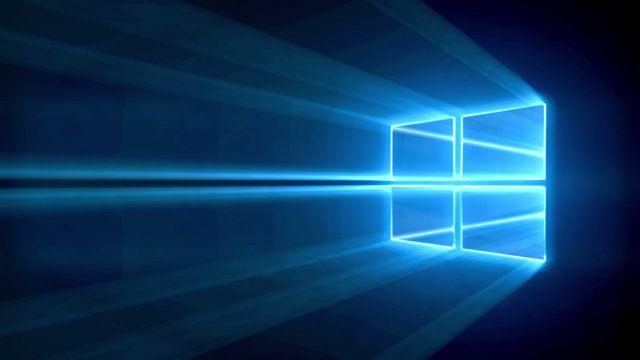 Windows 10'un Lazerli Duvar Kağıdını After Effects'te Yaptı