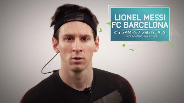 FIFA 16'da Messi'nin Hareketlerini Böyle Yakaladılar