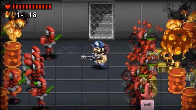 Angus Hates Aliens - Uzaylı Öldürmeli PlayStation 3 Oyunu