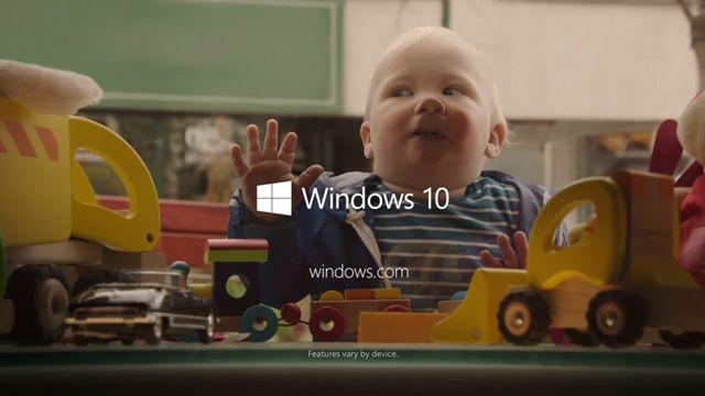 Microsoft İlk Windows 10 Reklamını Yayınladı