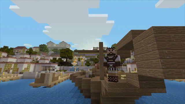 Minecraft'tan Yunan Mitolojisi Ek Pakedi Duyuruldu