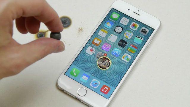 iPhone 6'nın Üzerine Sıcak Demir Koyarsanız Ne Olur?