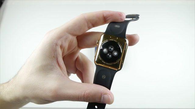 Altın Apple iWatch Mıknatısları Sevmiyor!