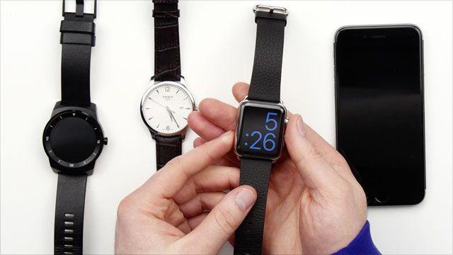 Apple Watch Ekranını Test Ettiler
