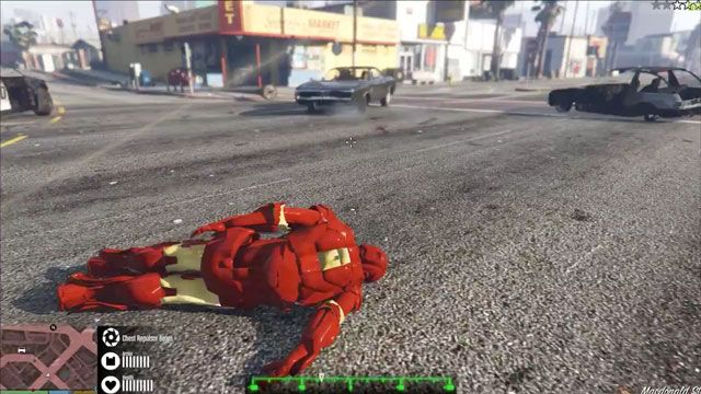 GTA 5'e Iron Man Modu Çıktı!