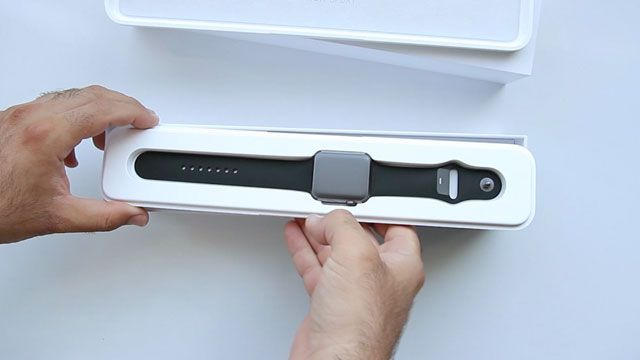 Apple Watch Kutu Açılış Videosu