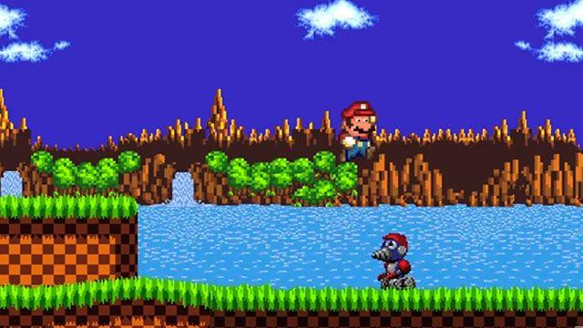 Super Mario'yu SEGA Yapsaydı Ne Olurdu?