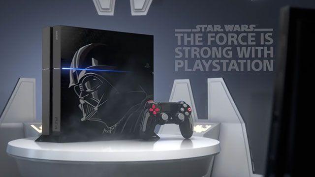 Star Wars İçin Özel PlayStation 4 Tanıtıldı