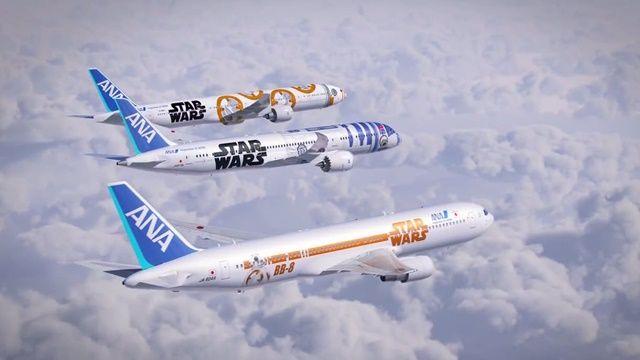 Star Wars Temalı Uçaklarda Uçmak İstemez Miydiniz?