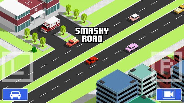 Smashy Road: Wanted Oynuyoruz