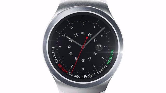 Yepyeni Akıllı Saat Samsung Gear S2 Ortaya Çıktı