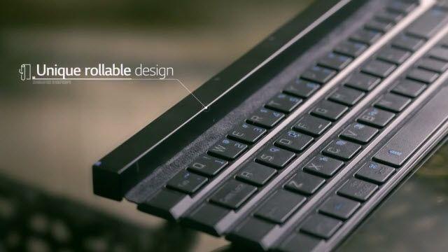 LG Rolly Klavye Mobil Dünyayı Sarsmaya Geliyor