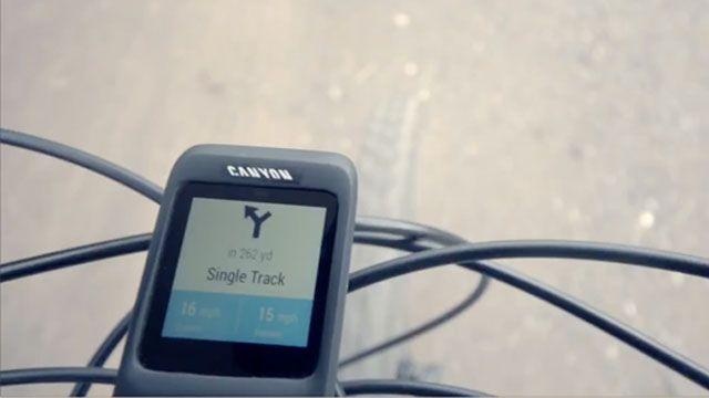 Canyon ve Sony'den Tam Entegre Bisiklet Bilgisayarı