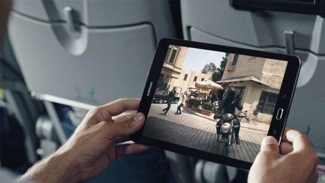 Samsung Galaxy Tab S2 Reklamı