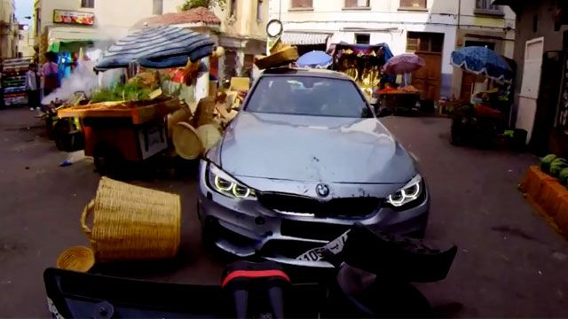 Mission Impossible Yeni Filminde BMW'ler Boy Gösterdi