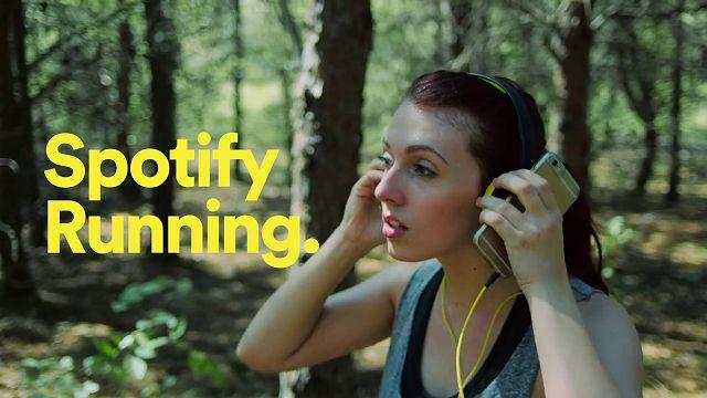 Spotify Running Çalma Listeleri Android'de