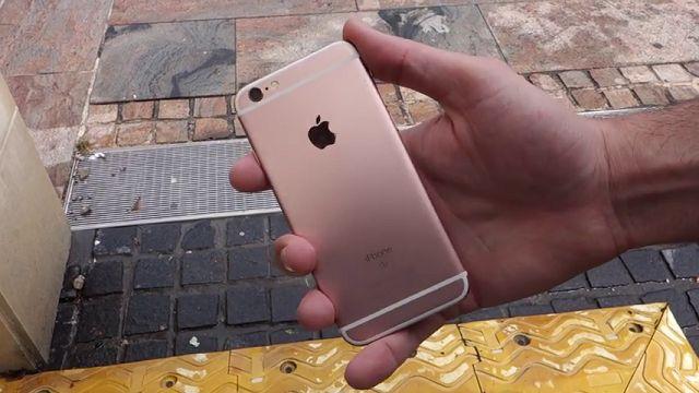 iPhone 6s ve 6s Plus Drop (Düşme) Test