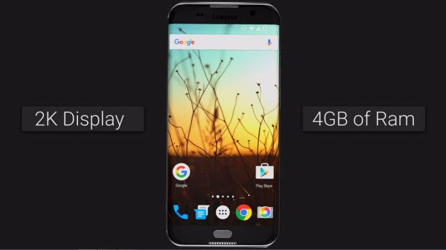 Samsung Galaxy S7 Edge Böyle Görünsün İster miydiniz?