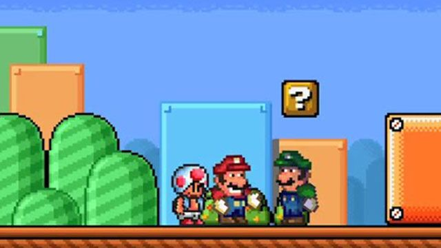 Super Mario ve Luigi'nin Şaka Savaşı