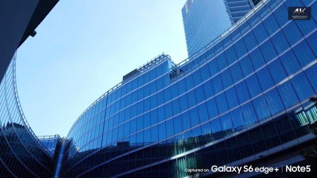 Samsung Galaxy S6 Edge ve Note5'in 4K Ultra HD Çekimleri Göz Kamaştırıyor