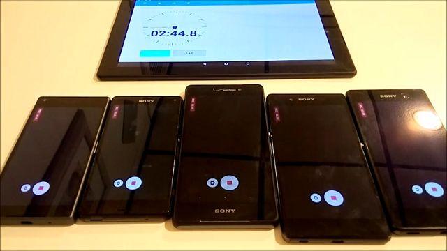 Sony Xperia Z5, 4K Video Kaydına 40 Dakika Dayanabiliyor