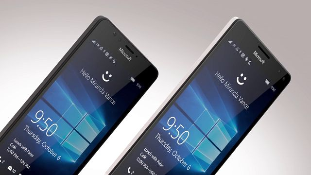 Microsoft Lumia 950 ve 950 XL, Android Amiral Gemilerine Kafa Tutuyor