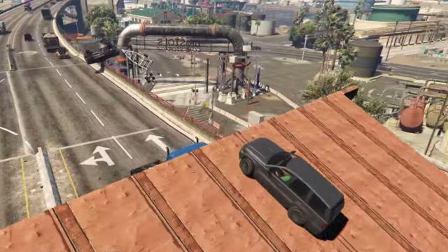 GTA 5'te Sanatsal Bir Uçuş Tecrübesi