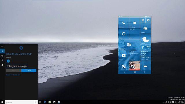 Windows 10 Bilgisayardan Telefona SMS Gönderme Yakında Mümkün Olacak