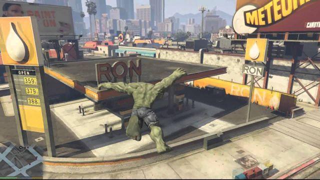 GTA 5 İçin HULK Mod'u Yayınlandı