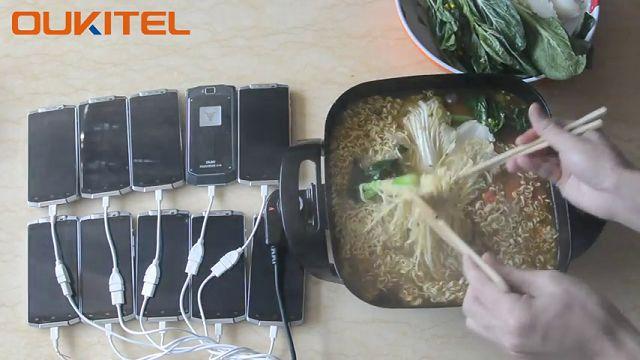 Oukitel K10000 ile Noodle Yapabilirsiniz