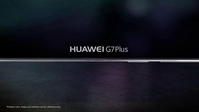 Huawei G7 Plus Tanıtım Videosu