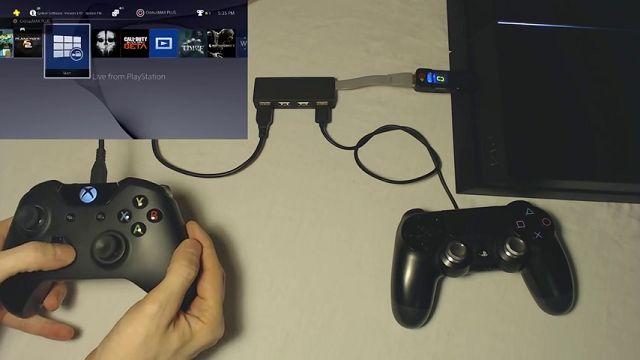 Xbox One Elite Kontrolcüsünü PS4'te Çalıştırmayı Başardılar!