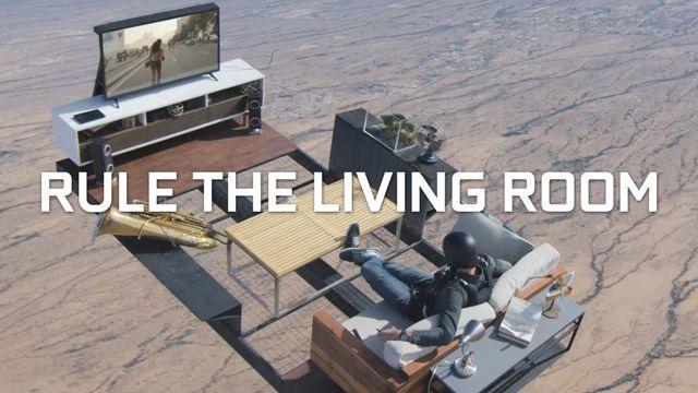Havadan Oturma Odası Düşüren Reklam