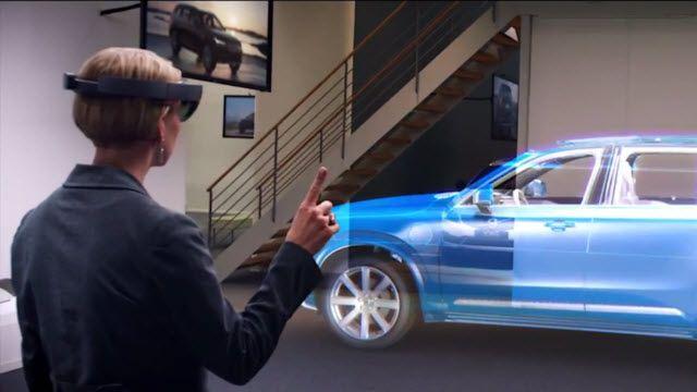 Geleceğin Otomobilleri Hologramla Satın Alınacaklar