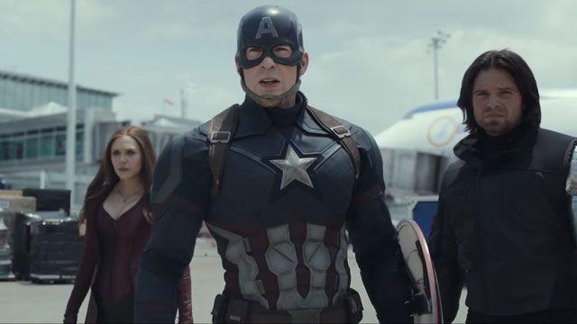 Captain America: Civil War İlk Fragmanı Yayında