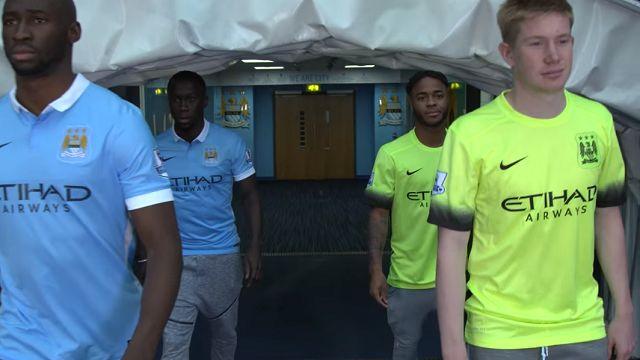 Manchester City Oyuncuları FIFA 16 Turnuvasında