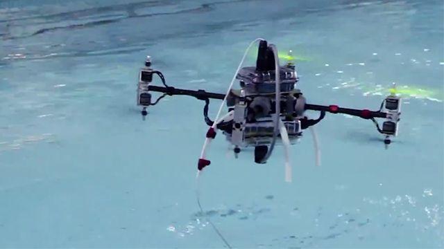 Suyun Altında Gidebilen Drone Çıktı!