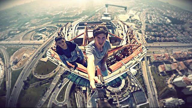 Yükseklik Korkusu Olan Bu Videoyu Açmasın!