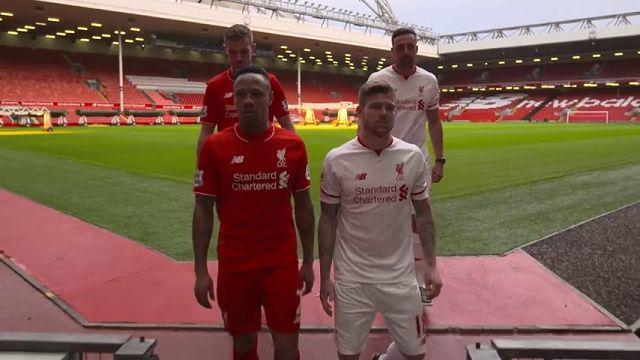 Liverpool Oyuncularının FIFA 16 Keyfi