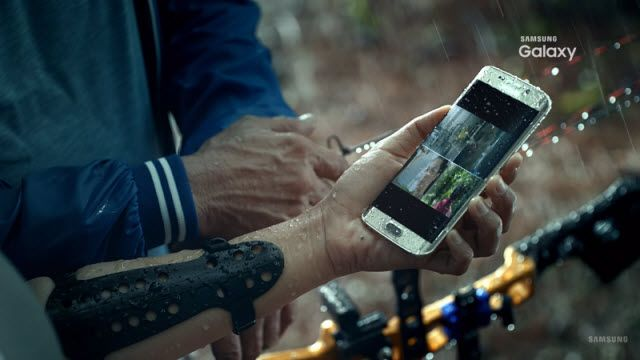 Samsung Galaxy S7'nin Videosunda Su Geçirmez Olduğu Kanıtlandı!