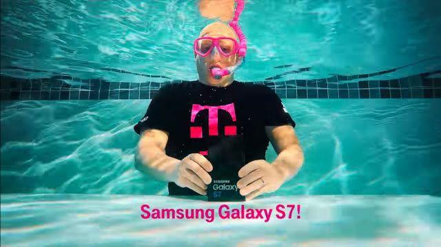 Su Altında Samsung Galaxy S7 Kutu Açılışı